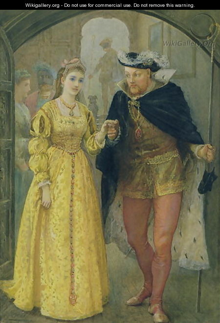Henry VIII and Anne Boleyn - Arthur Hopkins