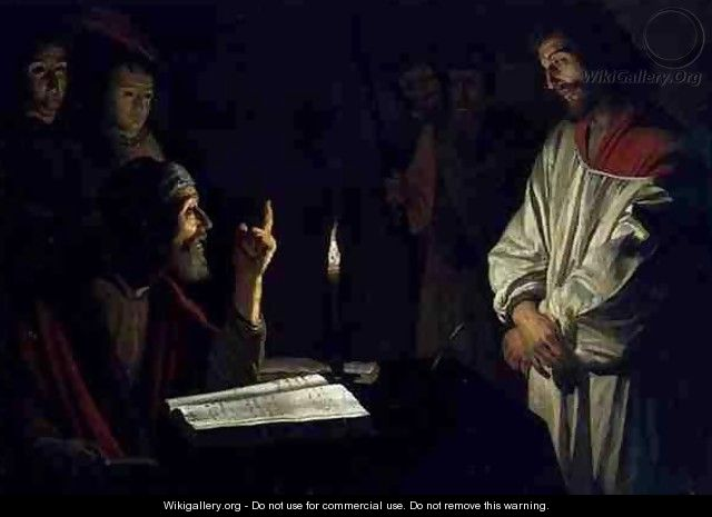 Christ Before Caiaphas - (after) Honthorst, Gerrit van