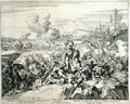 Vienna Print Cycle The Emperors Army fighting with the Turks - Romeyn de Hooghe