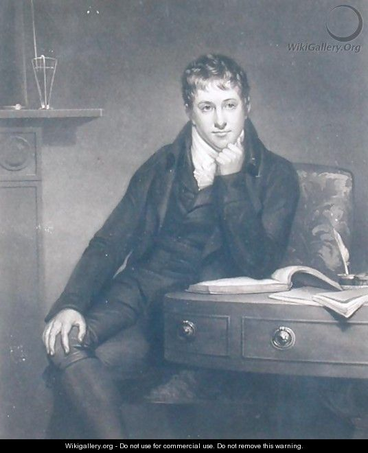 Sir Humphry Davy 1778-1829 - (after) Howard, Henry