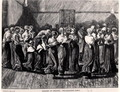 Shakers at a Meeting the Religious Dance - (after) Houghton, Arthur Boyd