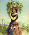 An Italian Fruit Seller - John Adam P. Houston