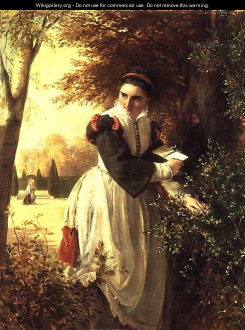 The Love Letter - John Callcott Horsley