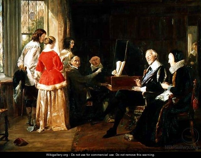 A Madrigal - John Callcott Horsley