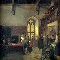 Rent Day at Haddon Hall - John Callcott Horsley