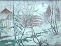 Chalets in the Snow - William Samuel Horton