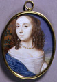 Portrait Miniature of Lady Margaret Coventry - John I & Hoskins, John II Hoskins