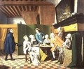 The Doctors Visits A Dutch Proverb The Doctor Inspects the General Health of His Patient - Jan Josef, the Elder Horemans