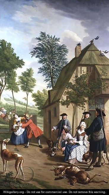 Figures in a Landscape 2 - Jan Jozef, the Younger Horemans