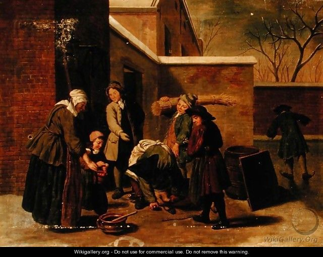 The Four Seasons Winter - Jan Jozef, the Younger Horemans
