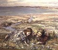 Two Girls on a Beach - Edward Atkinson Hornel