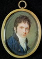 Miniature Portrait of Ludwig Van Beethoven 1770-1827 - Christian Hornemann