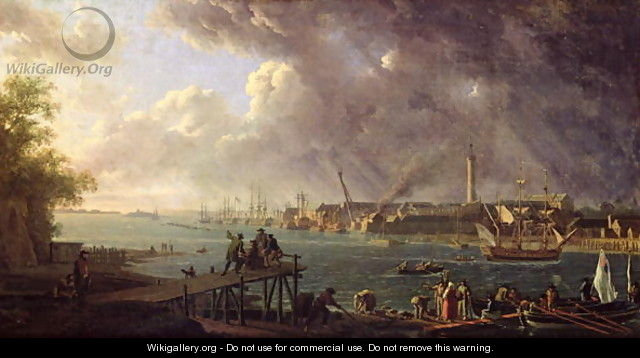View of the Port of Lorient - Jean-Francois Hue