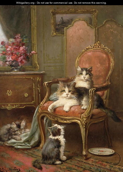 The Favourite Chair - Leon Charles Huber