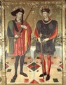 St Abdon and St Sennen martyrs who died in Rome - Jaume Huguet