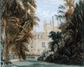 The Garden Quadrangle at New College Oxford - William Hull