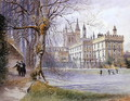New College from the College gardens - William Hull