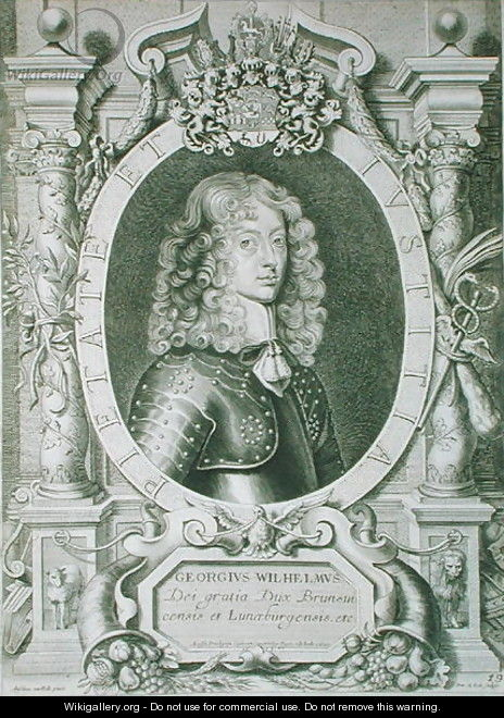 George William 1624-1705 Duke of Braunschweig Luneberg - (after) Hulle, Anselmus van