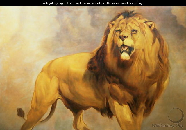 Lion 3 - William Huggins