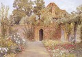 A Walled Garden with Old Garden House - Thomas H. Hunn