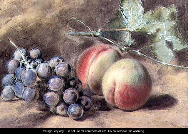 Grapes and Peaches - William Henry Hunt