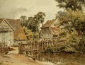 Farmyard with pond - William Henry Hunt