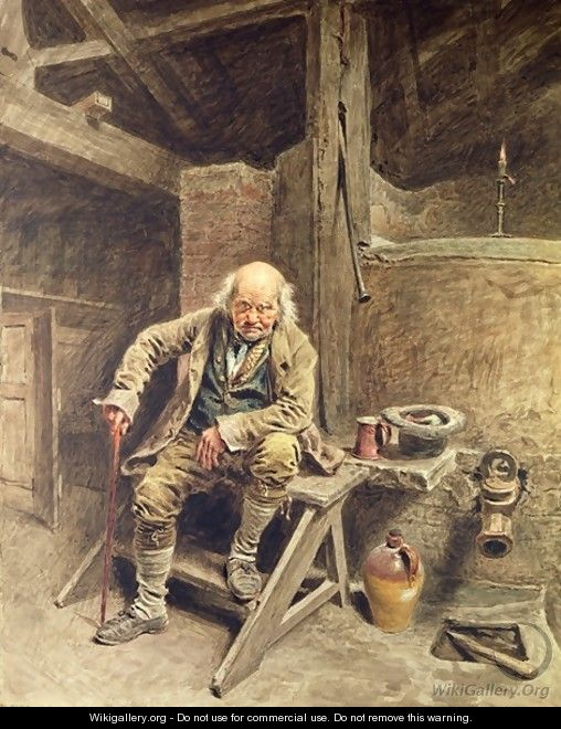 The Faithful Old Servant - William Henry Hunt