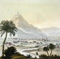 A view of the township of Lima Peru - (after) Humboldt, Friedrich Alexander, Baron von