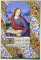 Portrait of St John from The Art of Illumination and Missal Painting - Henry Noel Humphreys