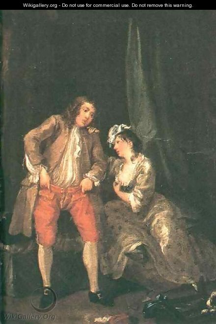 Before the Seduction and After 1731 - William Hogarth