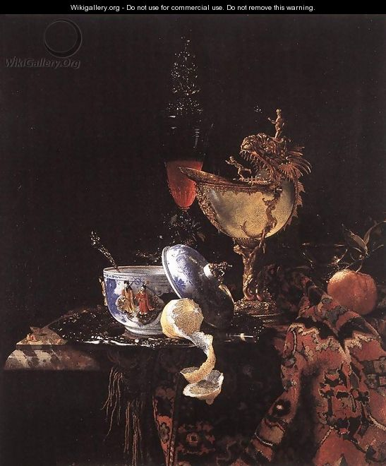 Still-Life with a Nautilus Cup 1662 - Willem Kalf