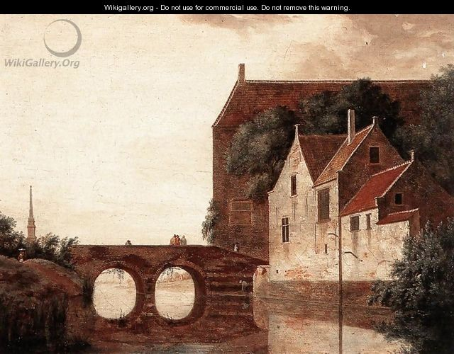 View of a Bridge - Jan Van Der Heyden