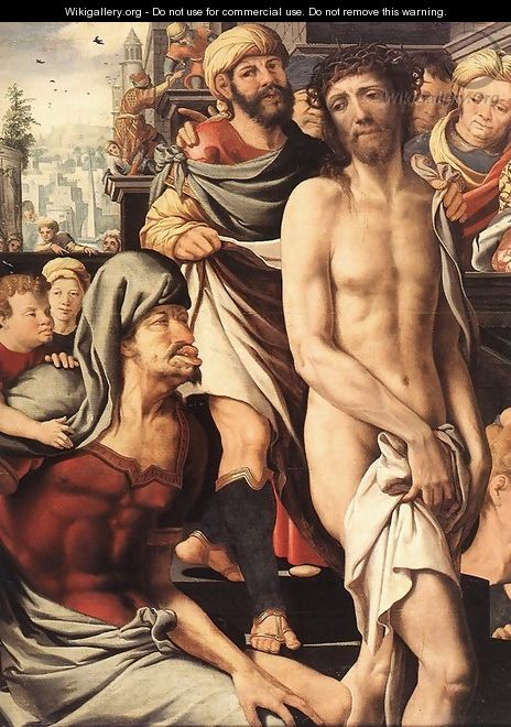 Christ Mocked (detail) - Jan Sanders Van Hemessen