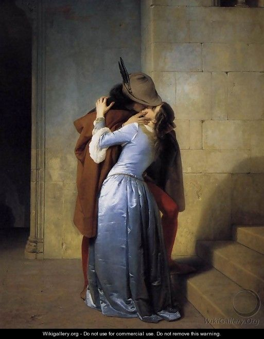 The Kiss 1859 - Francesco Paolo Hayez