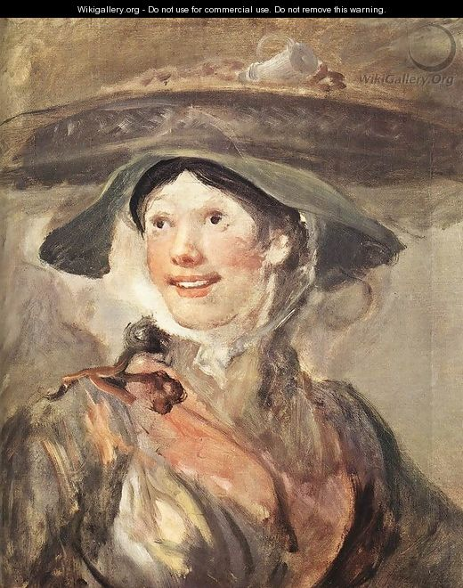 The Shrimp Girl c. 1740 - William Hogarth