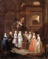 The Marriage of Stephen Beckingham and Mary Cox c. 1729 - William Hogarth