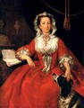 Portrait Of Mary Edwards - William Hogarth