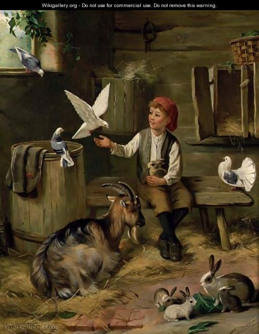 Farmyard friends - F. Hunt