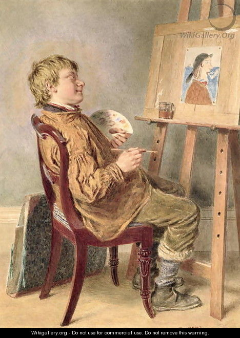 The Rustic Artist - William Henry Hunt