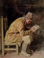 Study of a Countryman Reading - William Henry Hunt