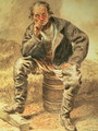An Oysterman - William Henry Hunt