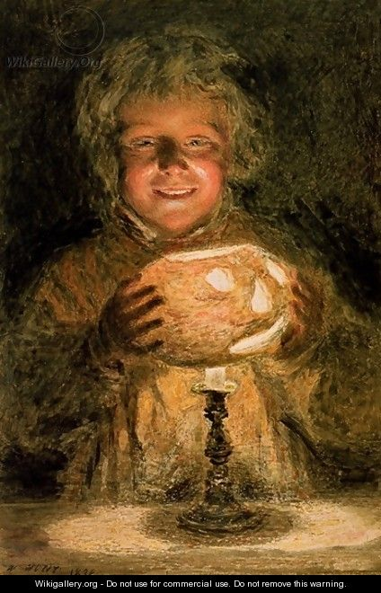 The Turnip Lantern by William Henry Hunt