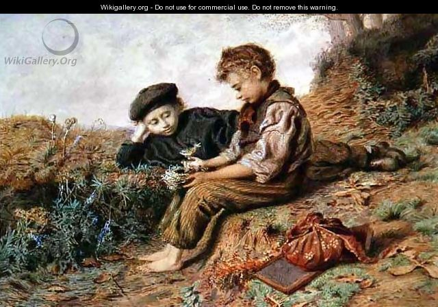 Schoolboys with a Stolen Nest - William Henry Hunt