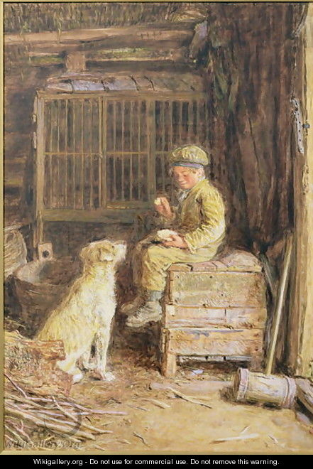 The Frugal Meal - William Henry Hunt