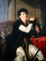 Portrait of Francois Joseph Talma 1763-1826 as Hamlet - Anthelme Francois Lagrenee