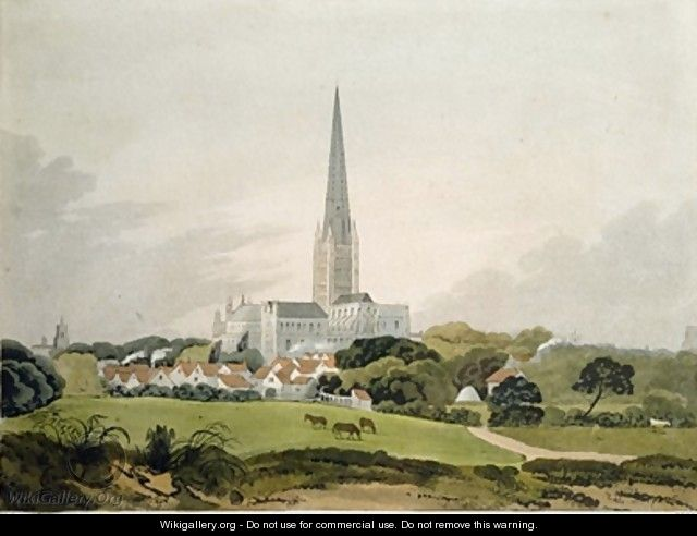 Norwich Cathedral - Robert Ladbrooke