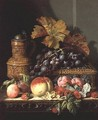 A Still life of Fruit - Edward Ladell