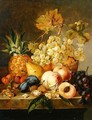 Still life with fruit - Edward Ladell