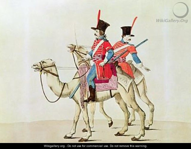 Soldiers of the Dromedary Regiment - Laderer
