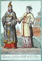 A Chinese Emperor and Noble Woman - L.F. Labrousse